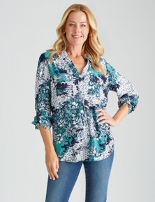 Rivers Long Sleeve Pocket Detail Shirt