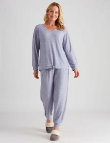 Rivers Knitted Printed PJ Set