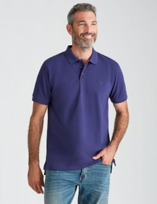 Rivers Short Sleeve Plain Pique Polo