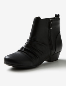 Riversoft Ruched Zip Boot