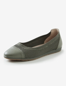 Rivers Leathersoft Knitted Ballet