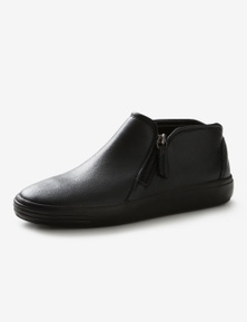 Rivers Leathersoft  High Top Zip Casual Shoe