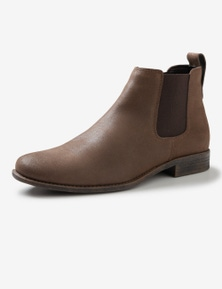 Rivers Cracked Leather Chelsea Boot