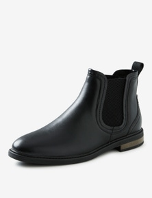 Rivers Matte Leather Chelsea Boots
