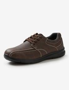 Rivers Stitched Pu Lace Up Shoe