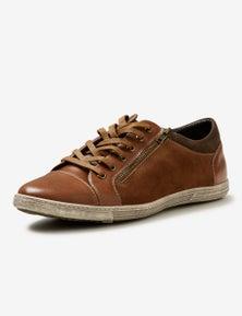 Chance Lace Zip PU Sneaker