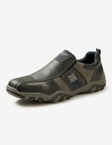 Rivers Chunky Mixed Material Slip On Shoe
