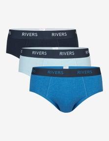 Rivers 3 Pack Mens Brief
