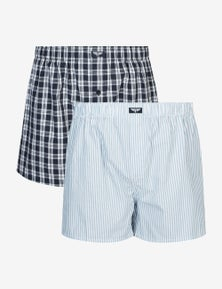 Rivers 2 Pack Cotton Boxers