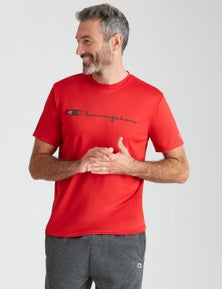 Champion Mens Short Sleeve Logo T-Shirt