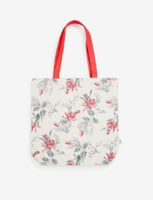 Rivers Printed Canvas Tote