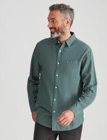 Rivers Long Sleeve Linen Cotton Shirt
