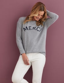 Rivers Fluffy Printed Sweatshirt