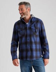 Rivers Long Sleeve Hooded Polarfleece Shirt