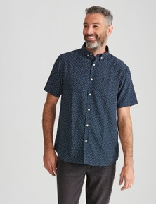 Rivers Short Sleeve Printed Soft Touch Shirt