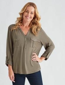 Rivers Long Sleeve Military Jersey Shirt