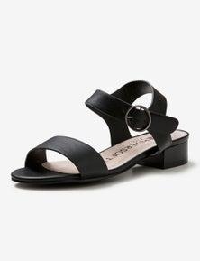 Riversoft Low Block Heel Sandal