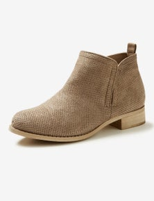 Riversoft Pin Punch Microsuede Short Boot