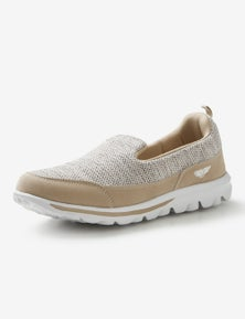 Rivers Memory Foam Barefoot Knitted Slip On