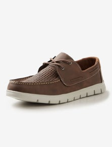Rivers punch out boat shoe