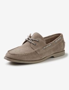 Rivers Suede Boat Shoe