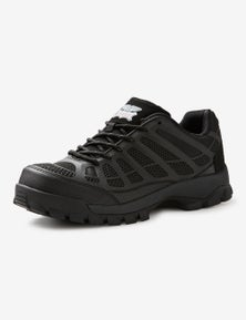 Rivers Steel Capped Lace Up Work Shoe