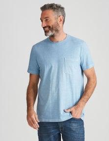 Rivers Garment Dyed Slub Tee