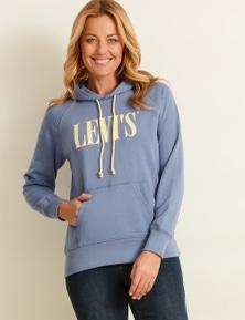 Levi's Womens Long Sleeve Logo Hoodie