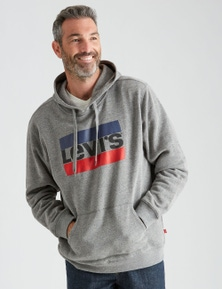 Levi's Mens Sportswear Logo Fleece Hoodie