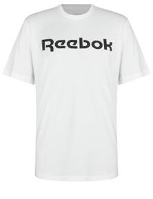 Reebok Mens Linear Read Short Sleeve T-Shirt