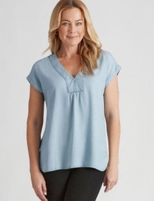 Rivers Extended Sleeve Lyocell Top
