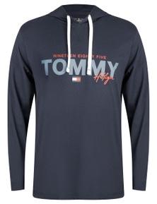 Tommy Hilfiger Graphic Print Jersey Hoodie