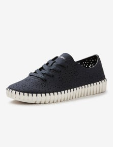 Skechers Womens Lace Up Casual Shoe