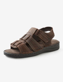 Rivers Riversoft Leather Half Caged Sandal