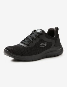 Skechers Womens Quickpath Lace Up Sneaker