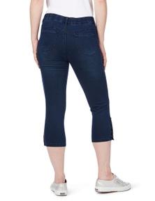 Rockmans Comfort Waist Mini Stud Crop Jean