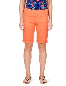 Rockmans Coloured Denim Short
