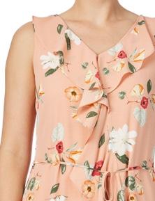 Table Eight Krista Print Dress