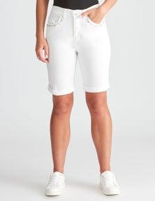 Rockmans Studded Pocket Coloured Short