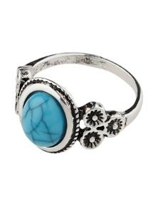 Amber Rose Night Time Ring