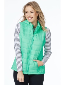 Rockmans Sleeveless Quilted Puffer
