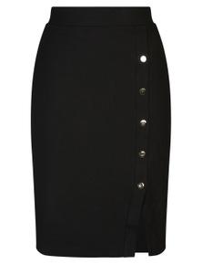 Table Eight Selena Button Detail Skirt