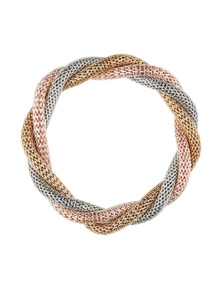 Amber Rose Three-Tone Stretch Bracelet