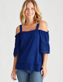 ELB LACE INSERT TOP