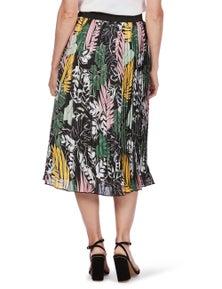 Rockmans Pleated Midi Skirt