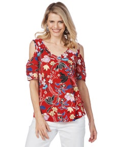 COLD SHD FLORL TOP
