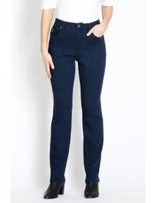 Rockmans Full Length C/W Regular Straight Leg Jean