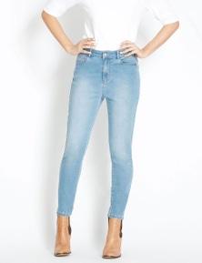 Rockmans 7/8 Stud Detail 365 Slim Leg Jean