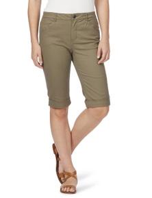Rockmans Knee Length Pocket Detail Short