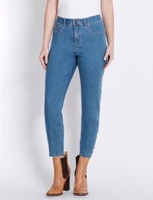 Rockmans 7/8 Ring Detail Skinny Jean